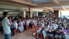 The peace forum in Antonio Villegas Vocational High School was held last September 18, 2017. Photo from Manila Youth Act Now.
