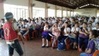 The peace forum in Emilio Aguinaldo Integrated School was held last September 26, 2017. Photo from Manila Youth Act Now.