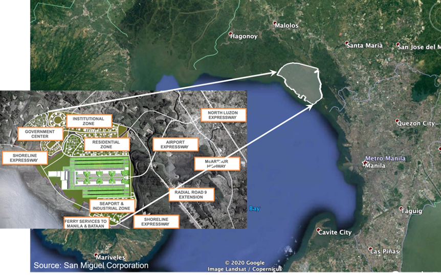 Manila Bay Aerotropolis No Place In Post Pandemic Philippines Manila Today With an average depth of 17 m (55.8 ft), it is estimated to have a total volume of 28.9 billion cubic meters (28.9 cubic km). manila bay aerotropolis no place in